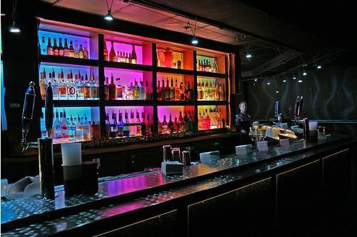 5w Led Rgb Color Changing Bar Night Club Dj Pool Table