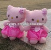 plush pink cat toys Hello Kitty dolls