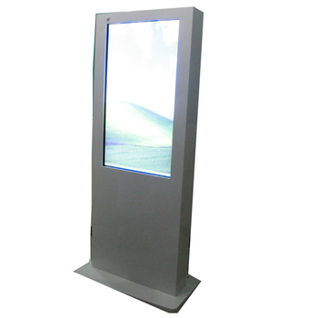 55inch water resistant touchscreen all in one pc kiosk enclosures