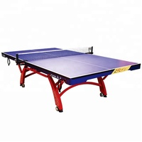 professional SMC standard movable portable table tennis table