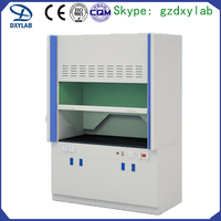 CE Certificated Customized Chemical University Full Steel Fume Hood