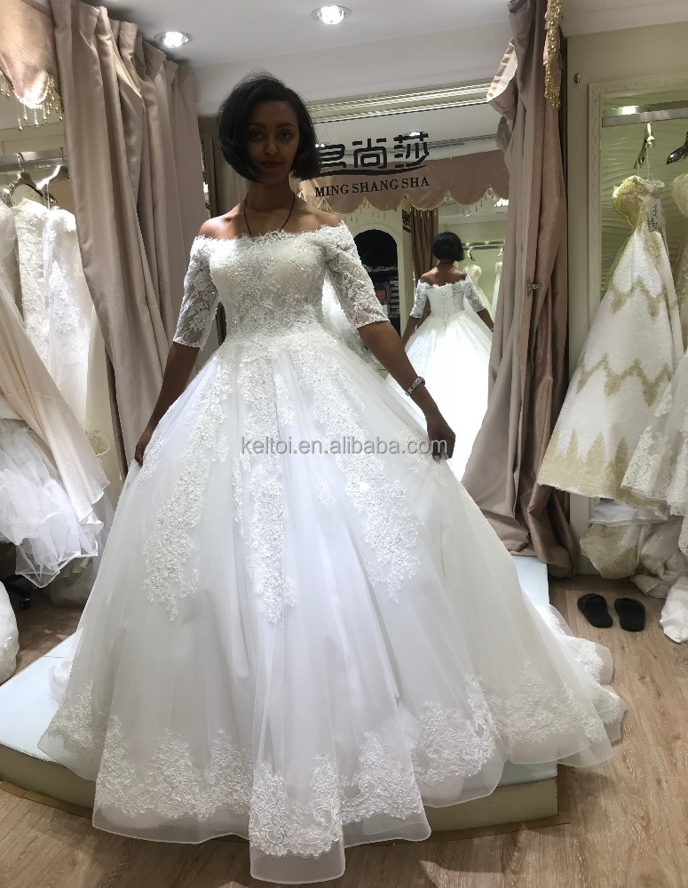 2018 Champagne Aliexpress African Wedding Dresses Buy From China ...