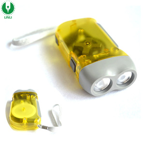 Promotional Plastic Led Dynamo Torch