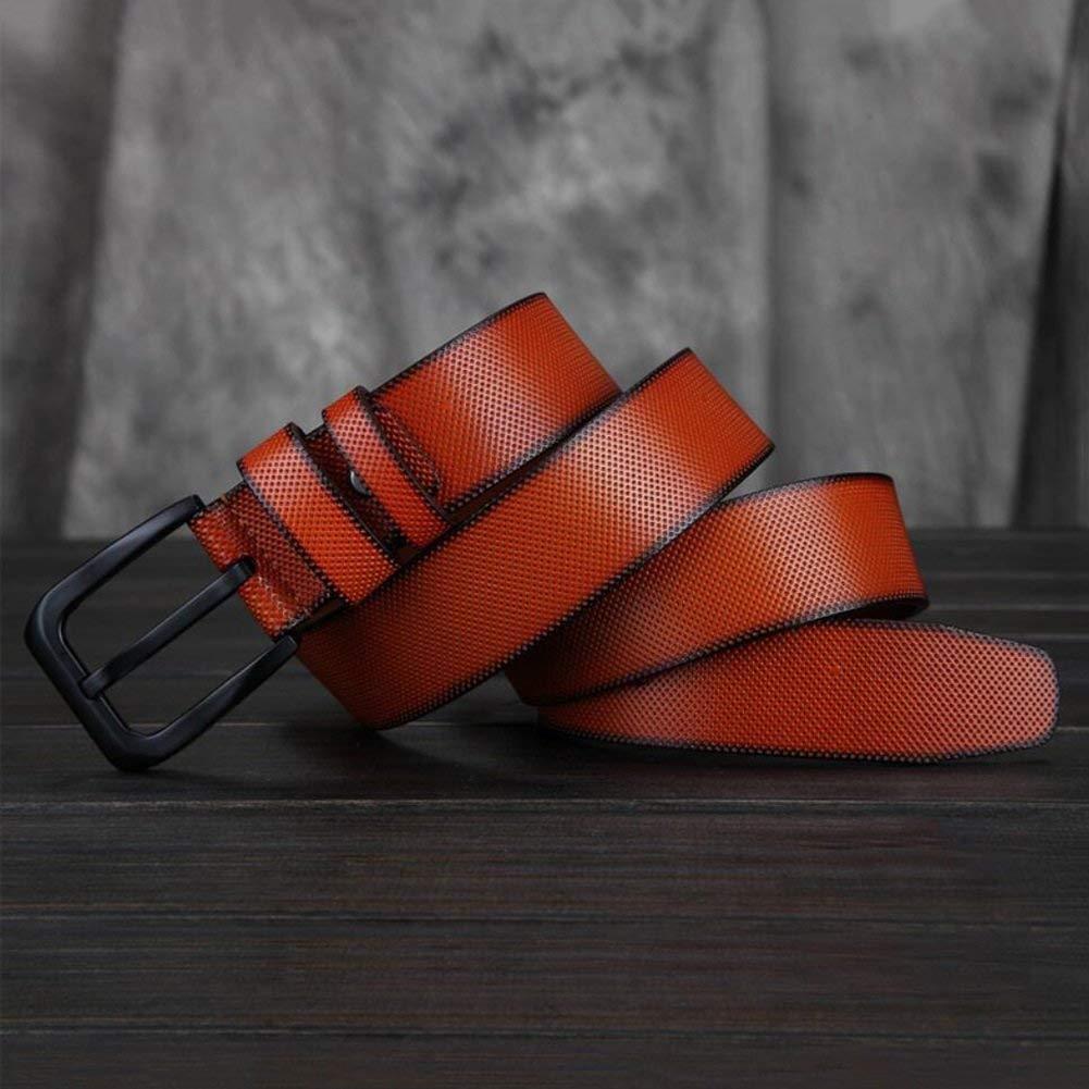 Formal Belts,Casual Formal Belts,Casual Formal Belts,Jeans /& Casual Wear /& Cowboy Wear /& Work Clothes Uniforms,A,39 XUEXUE Mens Pin Buckle Belt,Leather Adjustable