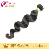 XBL factory various styles full cuticles tangle fee hair extensions micro link brazilian hair
