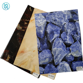 PET Marble Design Heat Transfer Printing Film For Acrylic