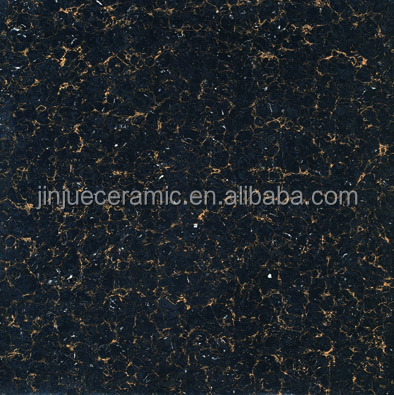 clean glitter small order black porcelain floor tiles