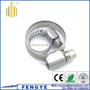 5mm Stainless Steel 304 316L Hose Clamp price