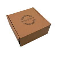 Top Sale custom kraft corrugated gift mailing paper box packaging with Jewelry hair care soap and perfume gift box