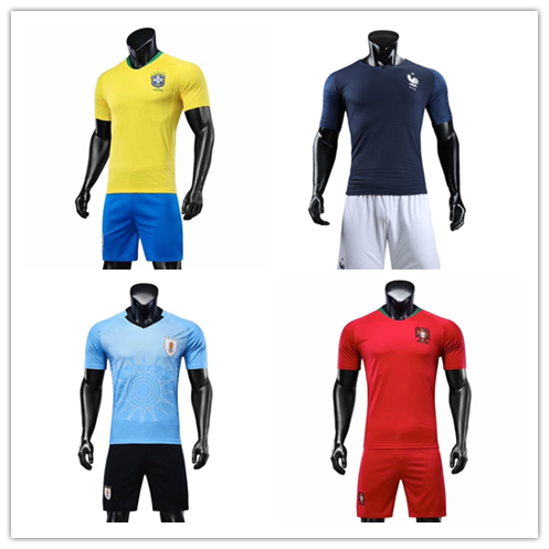153640873c7 2018 world cup sublimation football jersey customized national team soccer  jersey