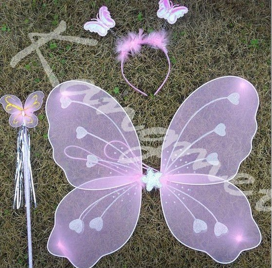 2014 New China Factory Suppliers Cheap Lavender Heart Angel Wings ...