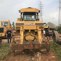 90% new condition competitive price second-hand caterpillar D7R bulldozer CAT D7R