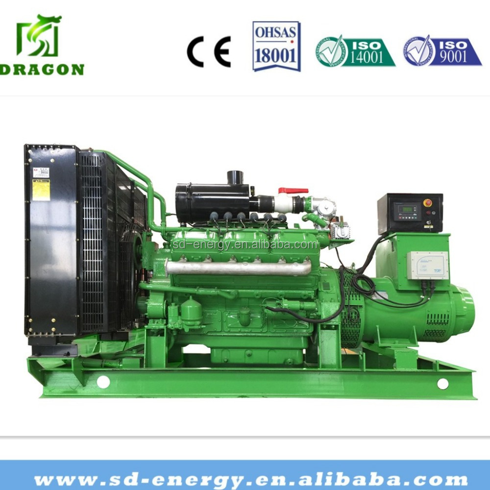 Landfill Gas Enginer Biogas Generator 150KW Methane Gas Genset From China Plant