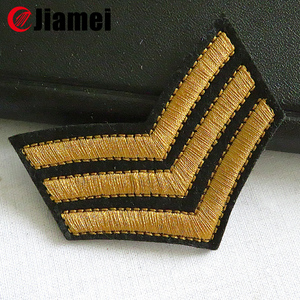 Factory outlet Uniform Embroidery army rank chevron military