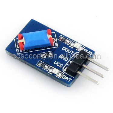 Digital Tilt Sensor Module Vibration Sensor Module Alarm For STM32 AVR Vibration Switch
