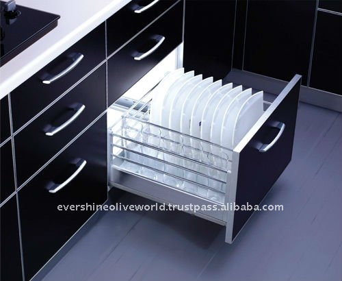 Kitchen Plate Racks