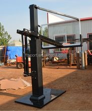 Inground Adjustable Basketball Stand with 60 inch Backboard
