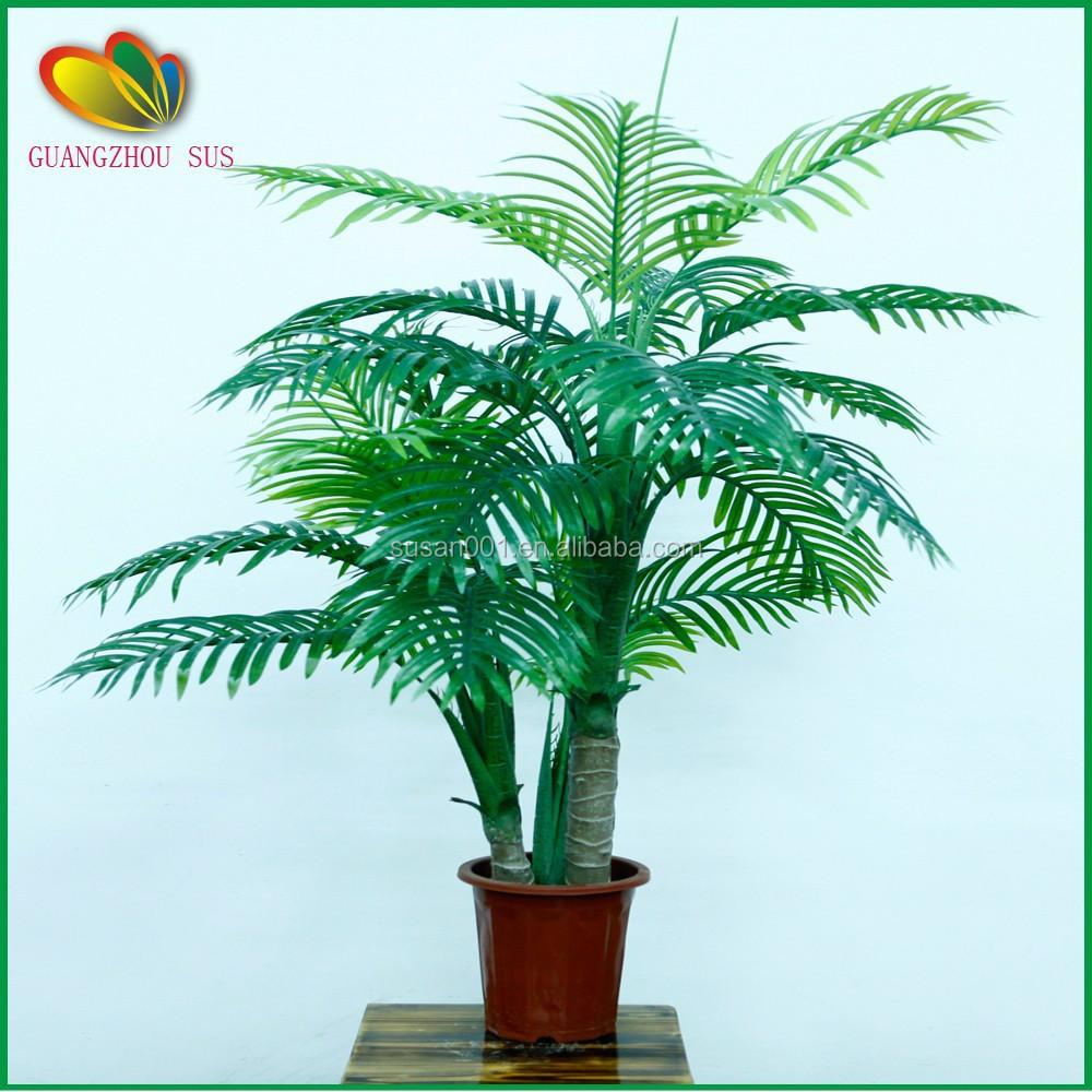 Wholesaler bonsai palm tree bonsai palm tree wholesale for Artificial plants for interior decoration