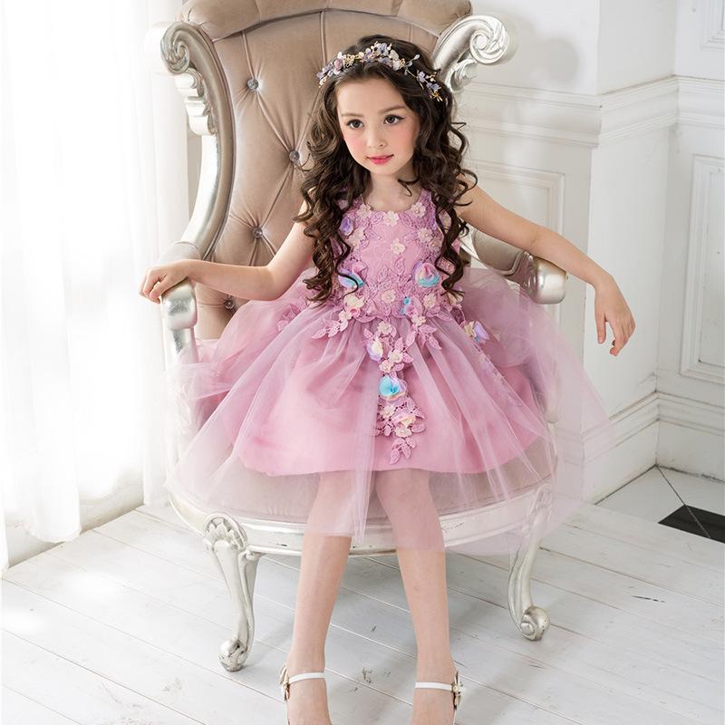 Venta al por mayor vestidos de niñas de 8 años-Compre online los ...