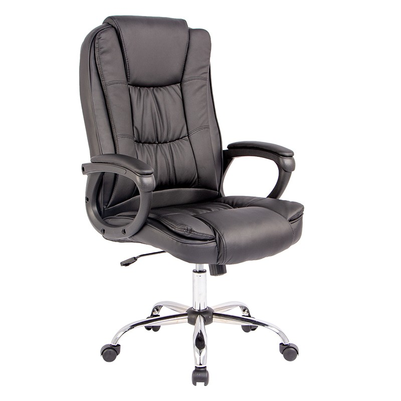 Hc C3351 Swivel Chair Adjustable Height Computer Desk Chair High Back Home Office Chair Buy High Back Leather Chair Soft Comfortable Office Chair Executive Chair With Chrome Parts Product On Alibaba Com