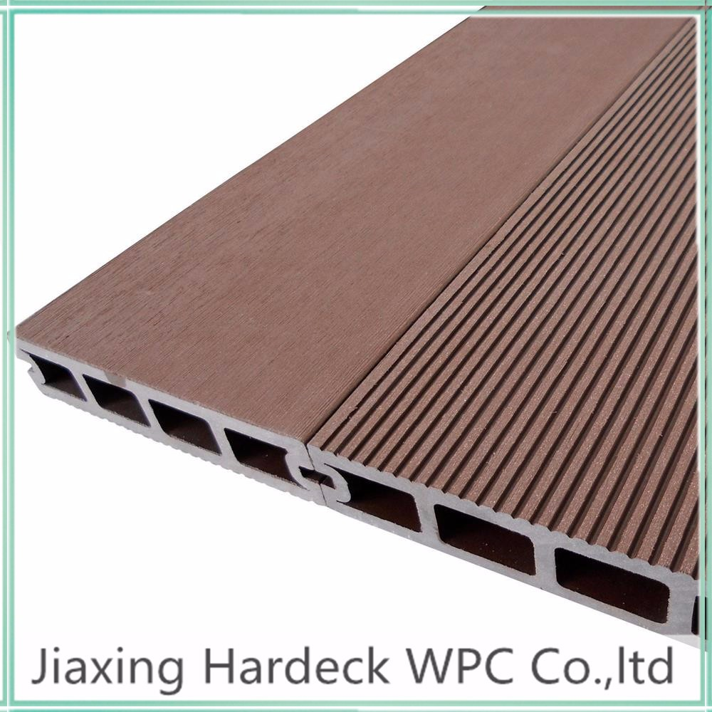 China manufacturer wood plastic composite decking buy for Plastic decking material
