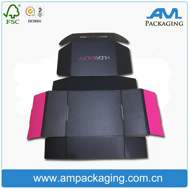 Printed Rigid Flat Pack Mailer Box Cheap Custom Carton Box Packaging