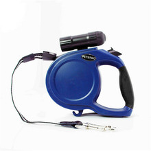 Top Quality Strong Adjustable 8M Large Dog Retractable Dog Leash With Flash Light