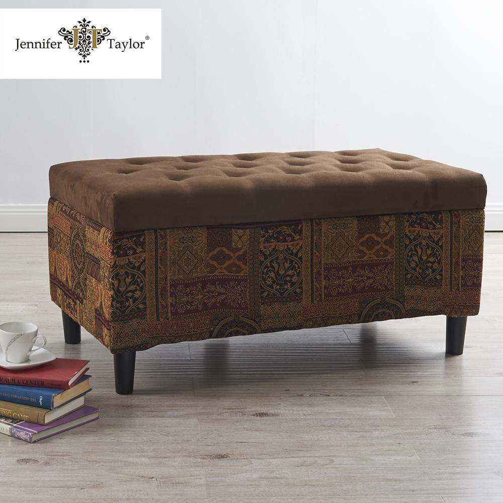 Puff Otomano Tela Dormitorio Muebles Del Hotel Banco Buy Product  # Muebles Otomanos