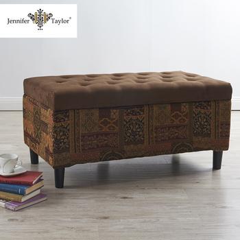 Puff Otomano Tela Dormitorio Muebles Del Hotel Banco - Buy Product ...