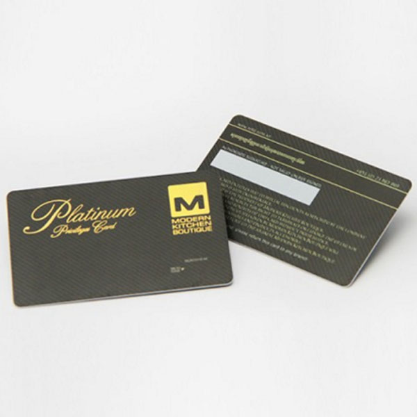 Premium Quality Printing Hot Foil Stamped Business Cards