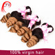 Instant delivery Ombre color 1B/27 human hair weaving .brazilian virgin hair body wave