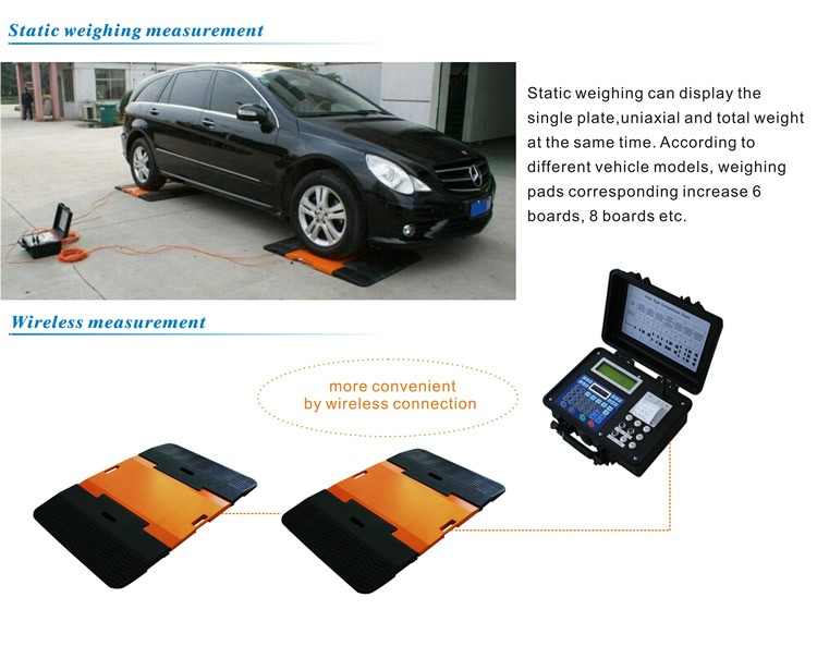 How To Use Gpwa02 Portable Axle Vehicle Weighing Scale