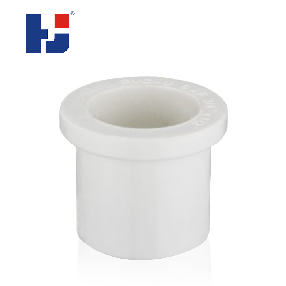 HJ top supplier schedule 40 water pipe fittings UPVC plastic reducer bushing