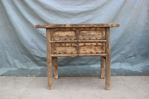 Chinese antique furniture console table