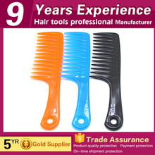factory manufacturer professional salon colorful wide tooth pressing comb for sale