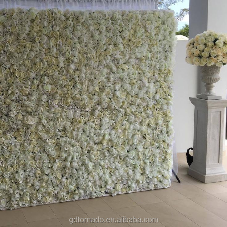 2017 Hand Made Flowers Wall Background With Amazing Pink
