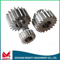 Connection bolt gears oem brass gears brass spur watch gears 302 gears