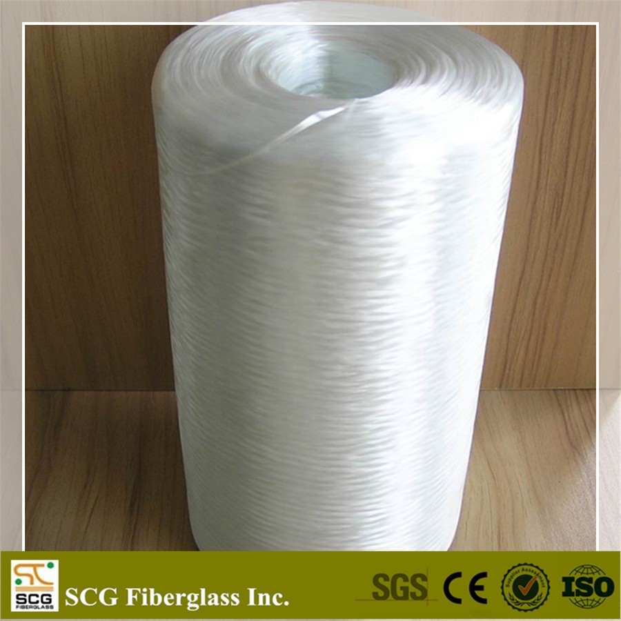 Glass fiber roving yran for knitting mesh