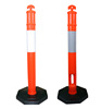 Top quality road safety plastic PU bollard delineator post