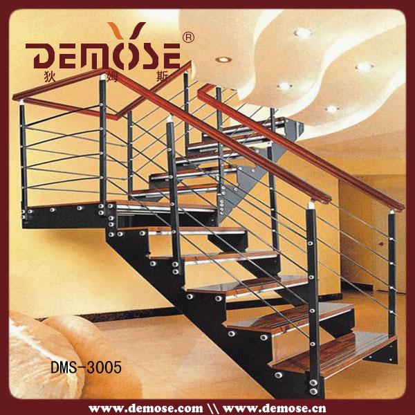 Escaleras de hierro y madera precios escalera caracol for Escaleras de granito precios