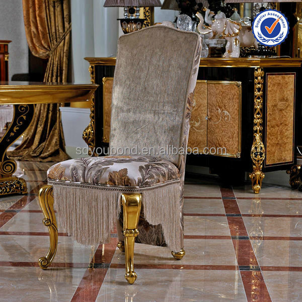 0061 Turkish Luxury Style Dining Room Furniture Antique Gold Dining Room  Furniture