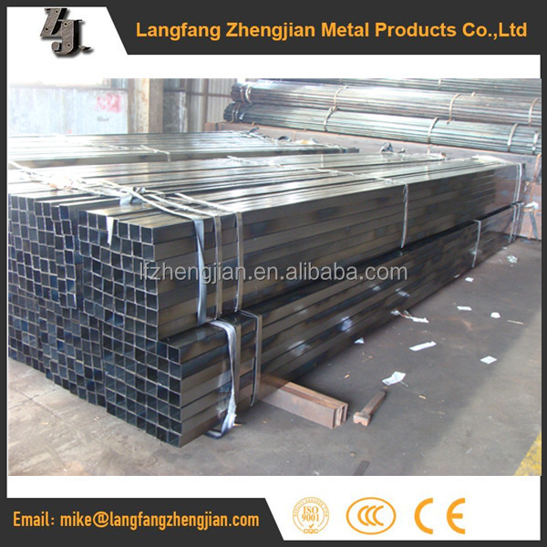 Alibaba Trade &Hot sell Black low carbon steel pipe