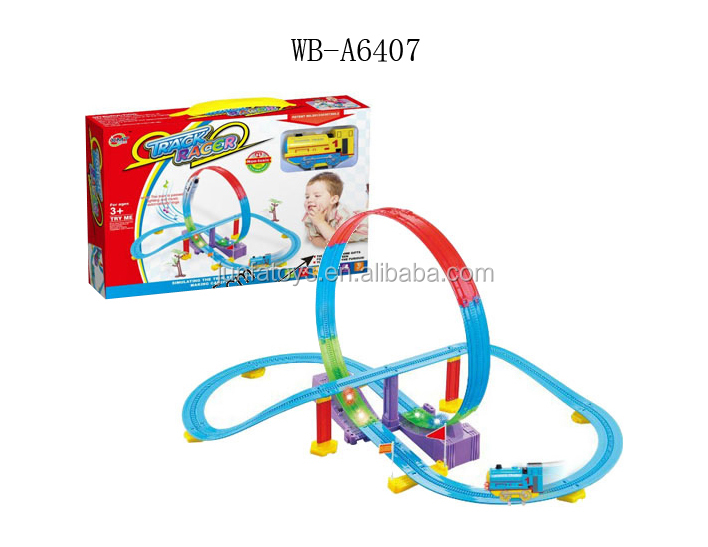 B O carzy track racer racing car toy