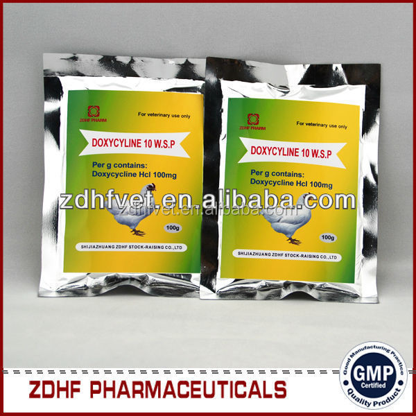 Antibacterial Doxycycline And Tylosin Powder For Poultry Farm Use ...