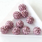 Wholesale DIY 10mm Rhinestone Pave Disco ball Crystal beads for Bracelet & necklace