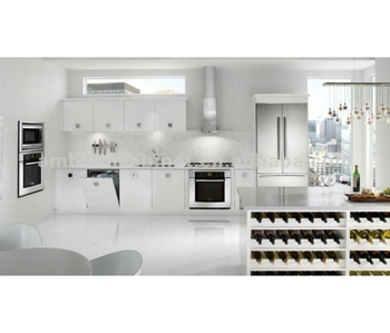 Superieur Cute White Lacquer Finished Kitchen Cabinet
