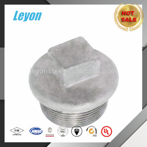 291 galvanized 5 way pipe fitting carbon steel pipe fitting plug