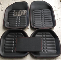 Leather 3d car mat automotive floor mats factory