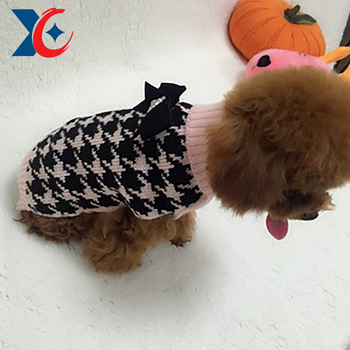 Fashionable Cute winter two colors dog jacket