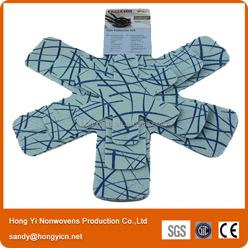 nonwoven fabric heat insulation pan protectors&pot protectors